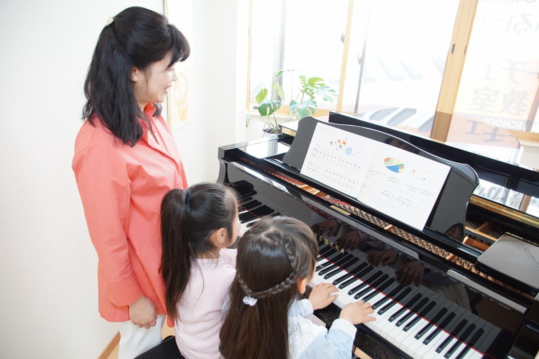 フェリーチェピアノ教室の連弾のレッスン